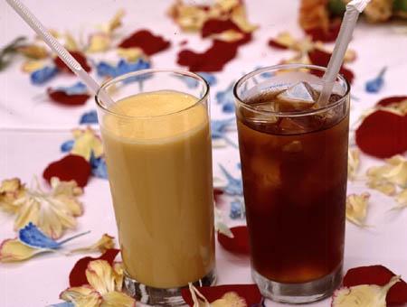 mongo lassi - iced tea
