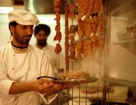 a sizzling tandoori dish