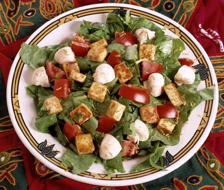 veg paneer salad