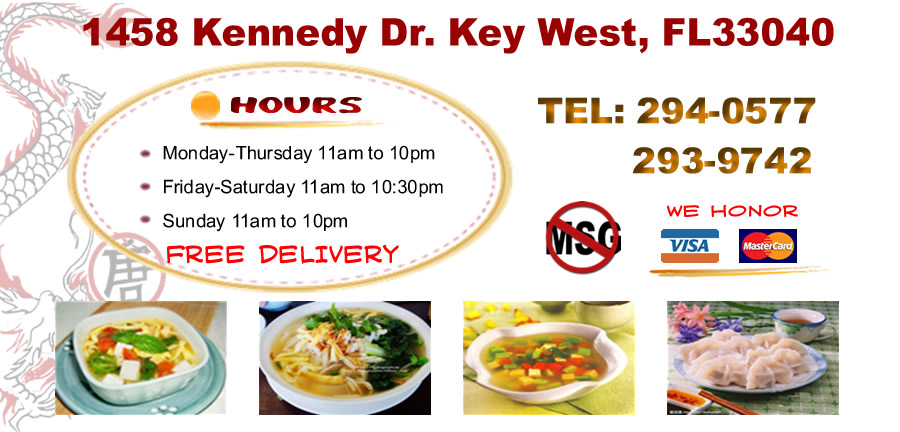 Tong 39 S Garden Order Online Key West Fl 33040 Chinese