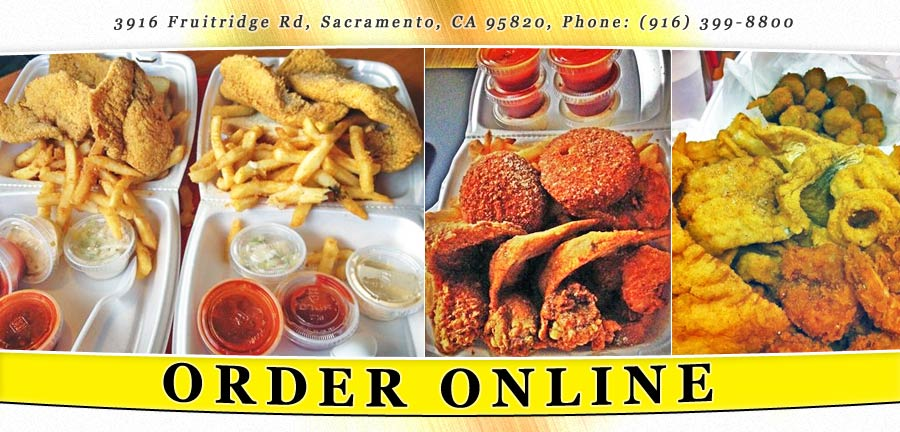 Jj 39 s fish chicken order online sacramento ca 95820 for Jj fish chicken menu