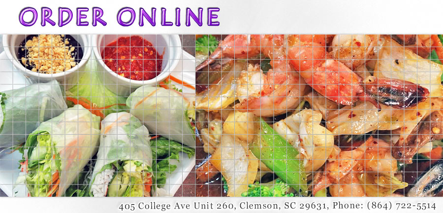 Bake And Cook Thai Restaurant Clemson Menu